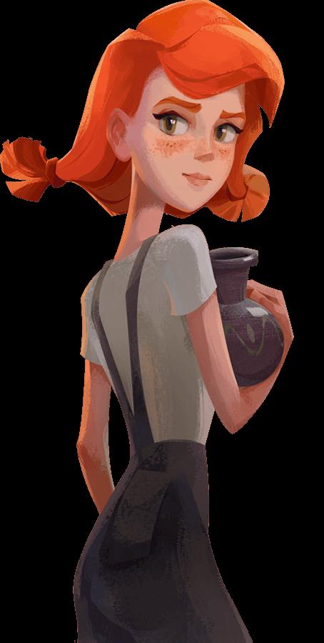 Ginger's Tale Cartoon